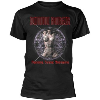 Dimmu Borgir T Shirt Puritanical Band Logo 新しい 公式 メンズ Size M