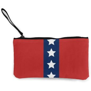 All_american_red_white_and_blue_patriotic_stripes_duvet_cover-r24885460112a4f38a0315a565c68d5d9_6w5va_9307 口紅、コイン、現金、クレジットカード、ヘッドセット、USB用のジッパー付きキャンバス小銭入れ小さなかわいいポーチ