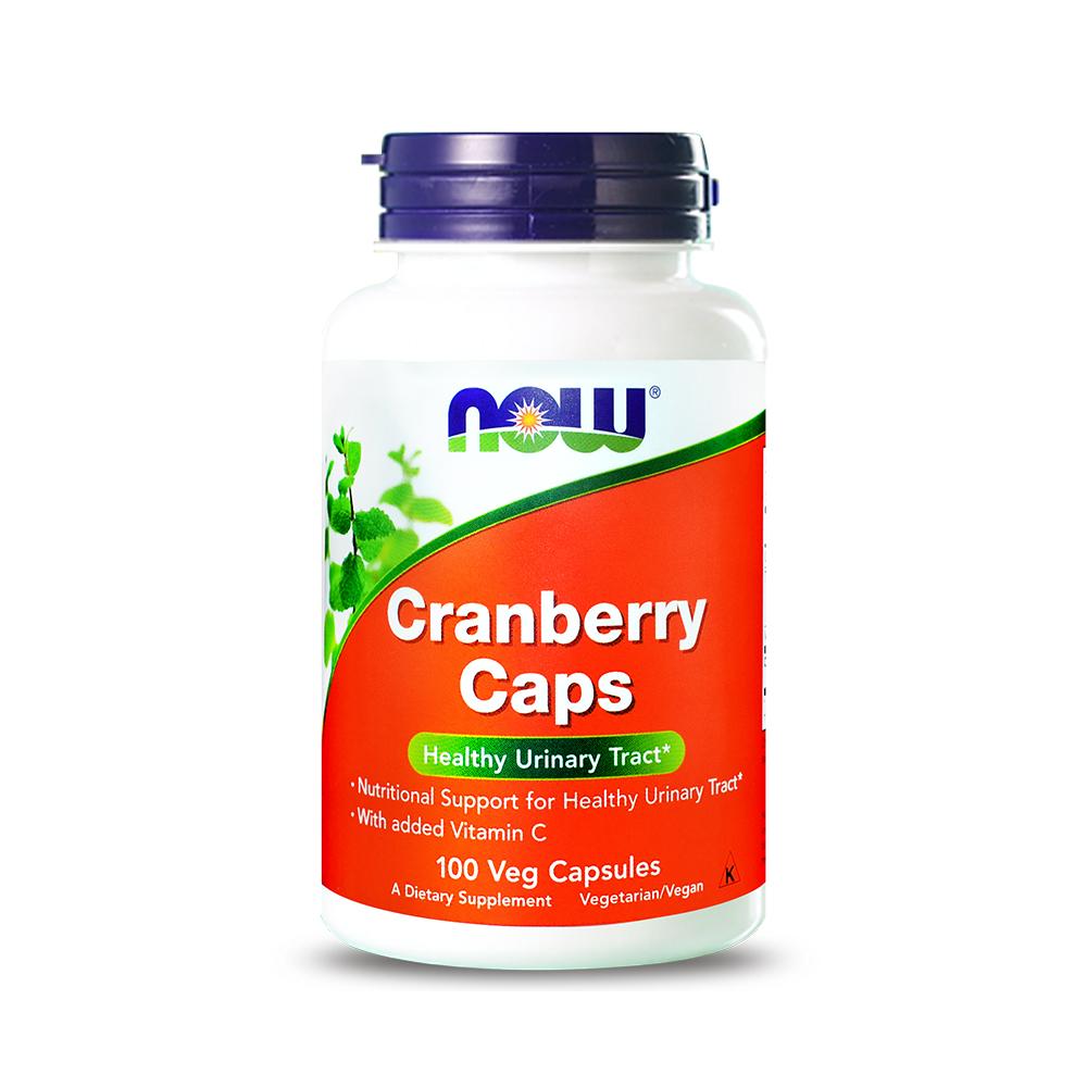 NOW健而婷 蔓越莓植物膠囊食品 1瓶100顆