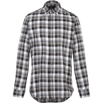《セール開催中》ZEGNA SPORT メンズ シャツ グレー S コットン 100%