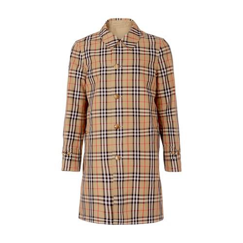 Draper trench coat