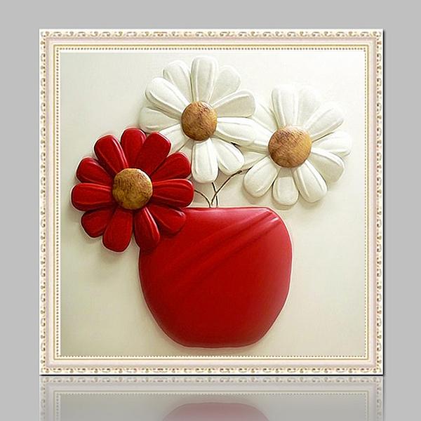 鑽石畫 新款5d鉆石畫滿鉆石繡蘋果三朵小花餐廳點貼鉆十字繡客廳簡約現代