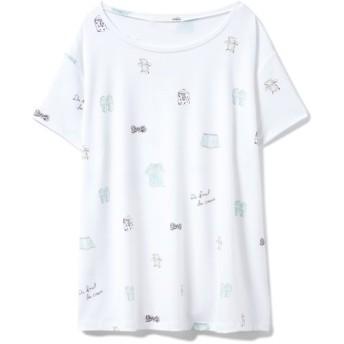 ジェラートピケ ピケモチーフTシャツ レディース OWHT F 【gelato pique】