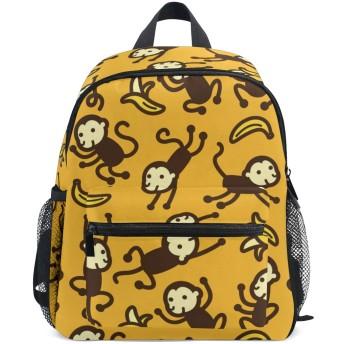 キッズリュックサック 子供バッグ リュックサック 猿 サル モンキー 子供用 おしゃれ かわいい 軽量 男の子 女の子 保育園 幼稚園 キッズリュック キッズバックパック アウトドア 男女兼用 子供 キッズ