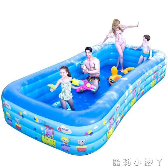 泳池兒童超大號水上樂園寶寶游泳池家用嬰兒充氣成人加厚家庭小孩水池NMS