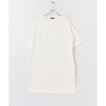 [アーバンリサーチ ロッソ] tシャツ サイドスリットチュニックTシャツ レディース OFFWHITE FREE