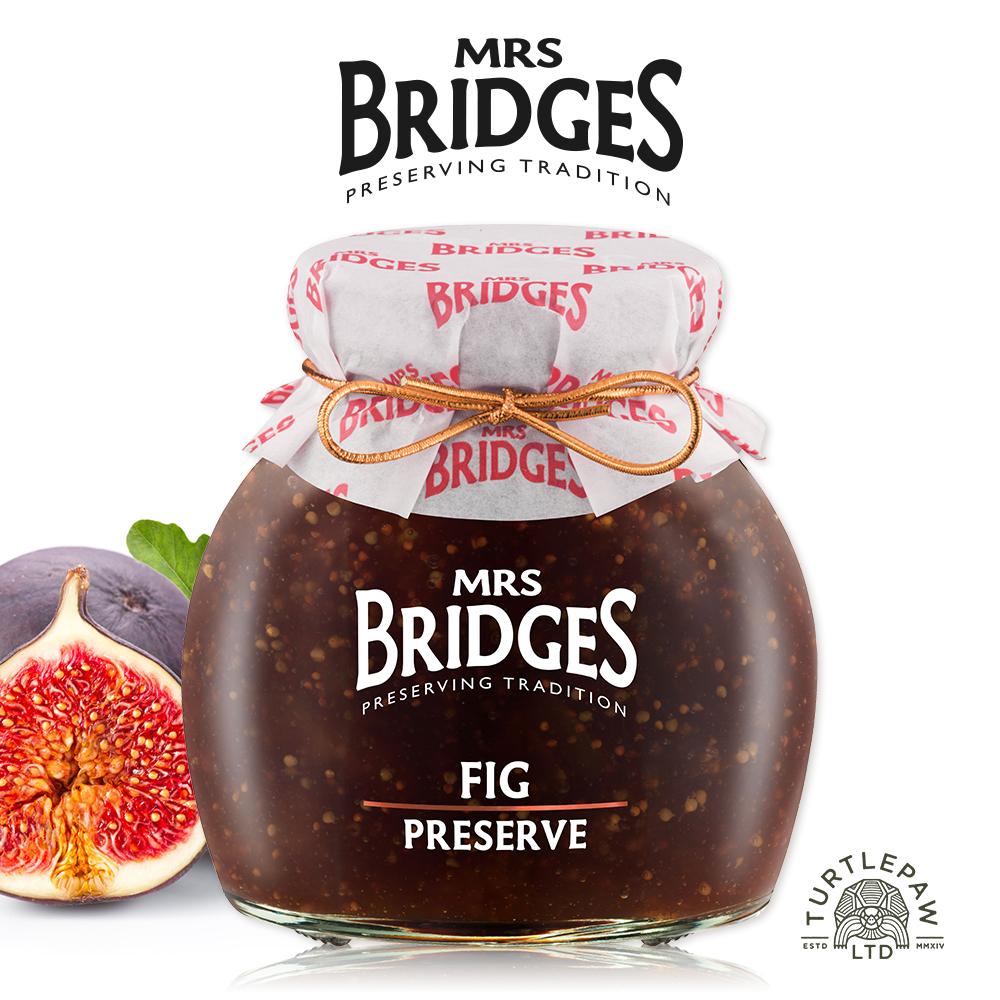 [Mrs.Bridges] 無花果果醬 (340g/罐) (全素)