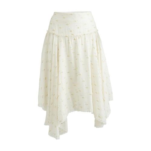 Skirt in jacquard