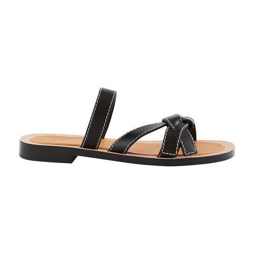 Gate flat sandals