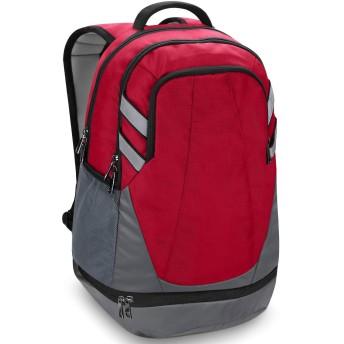 ウルトラライト折り畳み式のリュックサック、新入生スクールバッグ、旅行防水クライミングバックパック、ポータブルアウトドアキャンプナップザック、ユニセックス (Color : Red)