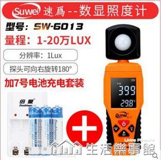 速為照度計測光儀亮度測試儀流明表數字光照度計高精度照度儀器