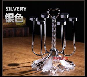 杯架歐式旋轉杯架水杯掛架創意玻璃杯架子時尚家用茶杯酒杯收納架倒掛