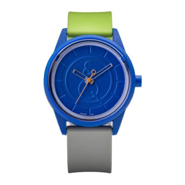 Q&Q SmileSolar 008 太陽能手錶-霧藍綠