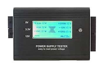 【電腦天堂】X-PRO easy diy ED-AC-PLCD01 電源測試霸 藍光液晶顯示 可測電壓 檢測電源