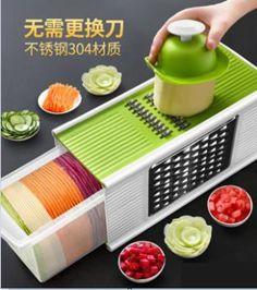 廚房切菜神器土豆絲切絲器刨絲切菜器擦絲家用多功能切片刮絲擦子