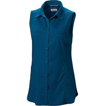Columbia(コロンビア) トップス Tシャツ Columbia Women's Silver Ridge Lite Sleev Siberia レディース [並行輸入品]