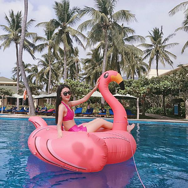 超大火烈鳥游泳圈女獨角獸充氣水上坐騎成人大人漂浮床浮排墊 【全館免運】