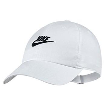 ナイキ キャップ NIKE HERITAGE86 FUTURA WASHED CAP 913011 ホワイト メンズ 帽子 白|FREE ホワイト(100)