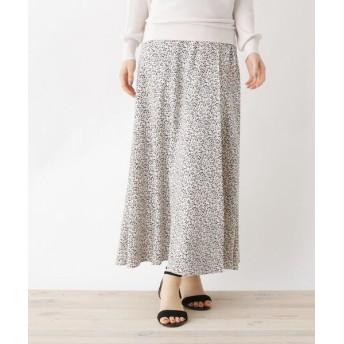 index/インデックス 【洗える・42(LL)WEB限定サイズ】Peアイビー柄ラップスカート ホワイト(102) 40(L)