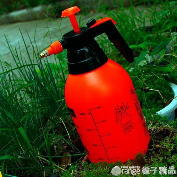 手動氣壓式噴壺園藝澆花灑水噴水壺小型噴霧器園藝工具家用噴霧瓶