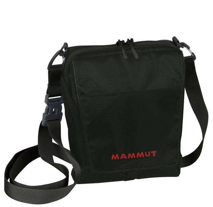 Mammut 長毛象 側背包/隨身包/旅行隨身袋/護照包 TASCH POUCH 2520-00131 0001 黑色 2L