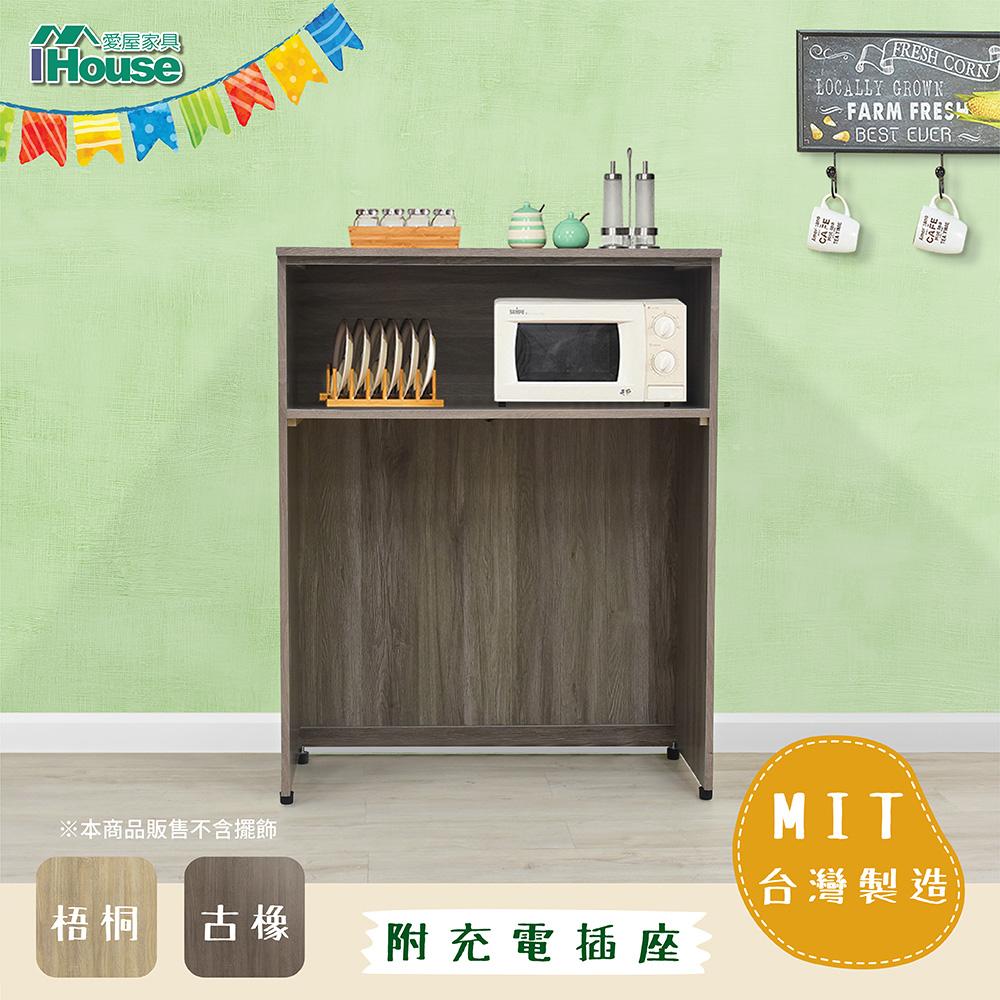 IHouse 團原 現代A字型機能碗盤櫃電器櫃
