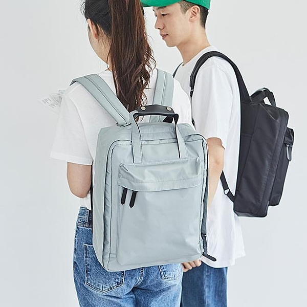 雙肩包大容量出差旅游輕便行李休閒大學生書包電腦包旅行包   【全館免運】