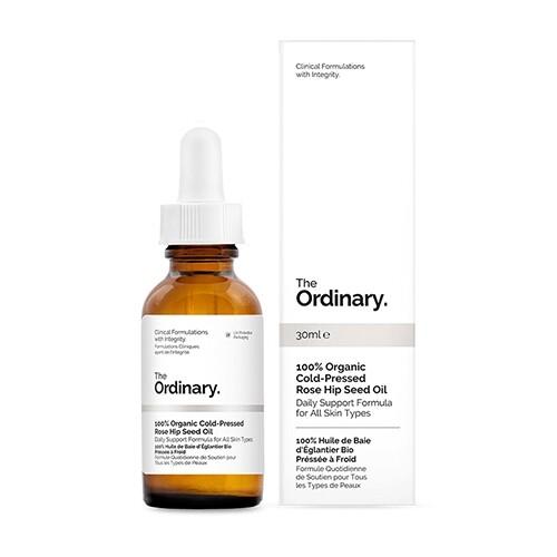 加拿大 the ordinary 100%冷榨玫瑰果籽油(30ml)  護膚果油/修復果油/玫瑰果油