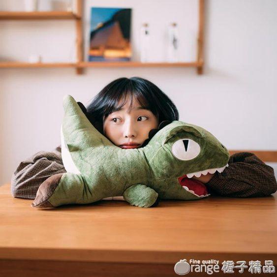 恐龍暖手捂抱枕創意公仔毛絨玩具布娃娃午睡枕可愛生日禮物送女孩