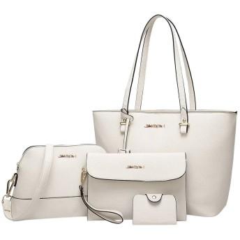 女性ファッションレトロローズプリントレザーショルダーバッグガールカジュアルワイルドスクエアバッグショルダーメッセンジャーバッグ (白)