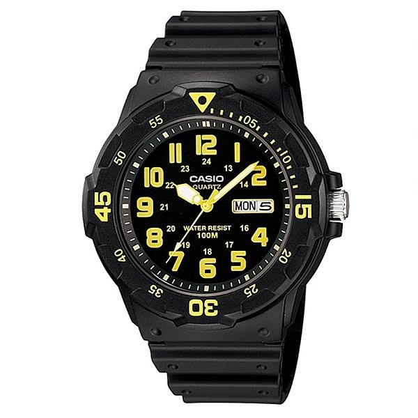CASIO 卡西歐  潛水風 DIVER LOOK指針錶 MRW-200H-9B
