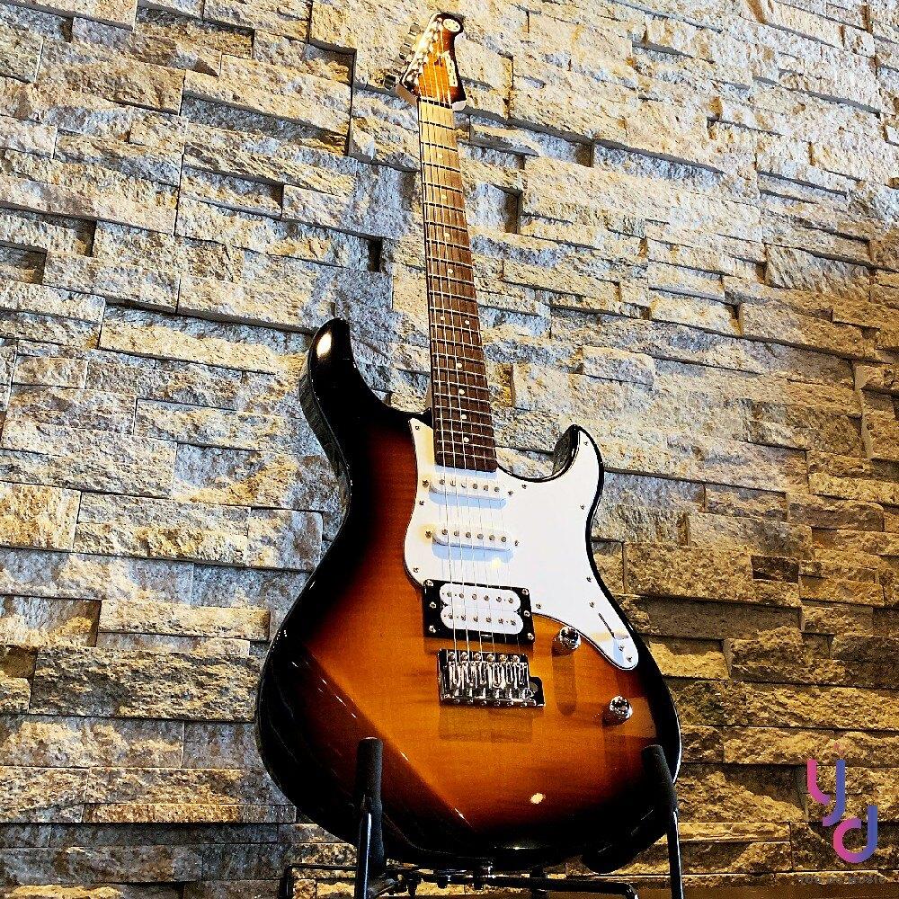 現貨免運 送千元配件 保固一年 YAMAHA Pacifica Pac 212 VFM 漸層色 雲狀虎紋 單單雙 電吉他
