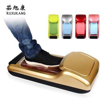 茹旭康鞋套機家用全自動一次性鞋膜機新款辦公用智慧腳套覆模機
