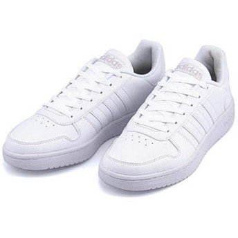 [アディダス] adidas メンズ ローカット スニーカー アディフープス2.0 クッション性 EE カジュアル デイリー スポーツ ウォーキング ADIHOOPS 2.0 DB1085 ランニングホワイト/ランニングホワイト/グレーワン 29.0cm