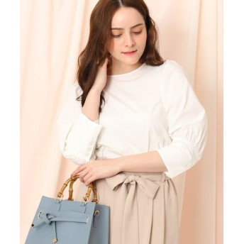 Couture Brooch/クチュールブローチ ボリュームパフスリーブシャツ ホワイト(001) 38(M)