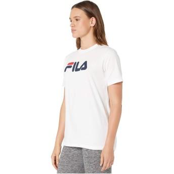 FILA(フィラ) トップス シャツ Eagle Tee Peacoat/Wh レディース [並行輸入品]