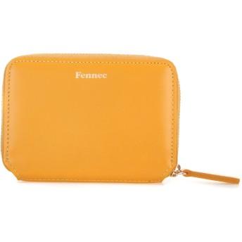 Fennec Mini Pocket フェネック レディース カードケース コインケース 本革レザー ミニ財布 【Fennec Official】 (マンダリン)