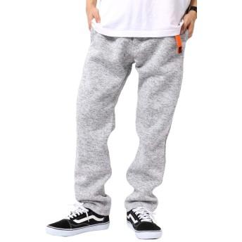 [アウトドアプロダクツ] ズボン メンズ クライミングパンツ 裏シャギー ストレッチ 防寒パンツ ライトグレー LL
