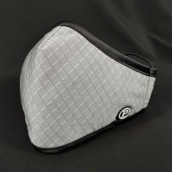 pyx 品業興 口罩p輕薄版--灰格紋