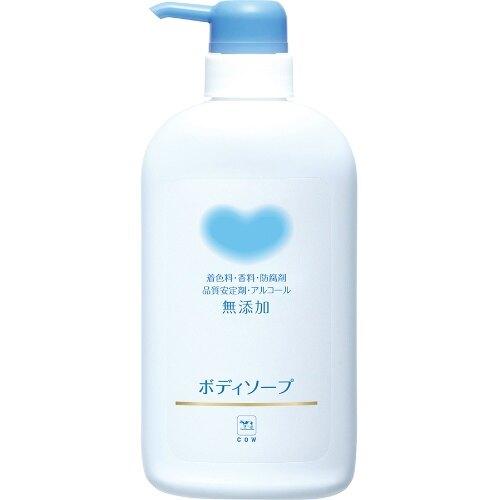 無添加沐浴乳-牛奶石鹼550ml
