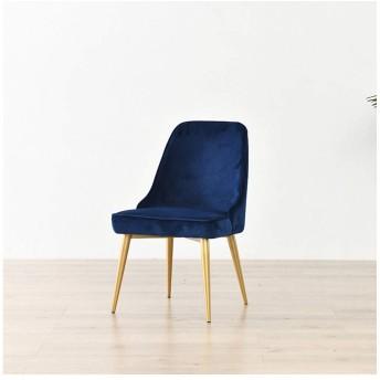 ダイニングチェア バースツールシンプルなパブ椅子バースツールモダン北欧メタルカウンタースツールキッチンホームメイクスツール付きパッド入りクッション (Color : Dark blue)