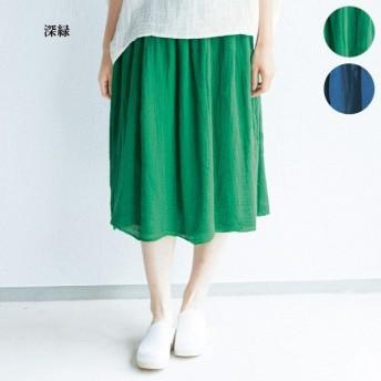 かやスカート / 50代 60代 70代 ファッション シニア ミセス レディース 婦人服