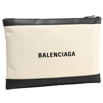 BALENCIAGA(バレンシアガ) バッグ メンズ NAVY CLIP L クラッチバッグ NATUREL/NOIR 373840-AQ3BN-9260 [並行輸入品]