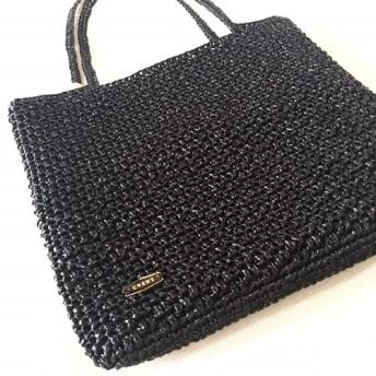キラキラトートバッグ『Shanti』ブラック
