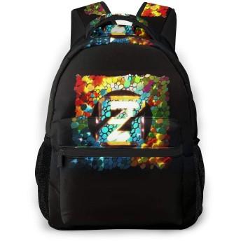 おしゃれ カジュアル 軽く ゼッド トゥルー カラーズ Zedd ショルダーバッグ 大容量 子供 通用する リュック 通学 旅行 運動 ランドセル Black