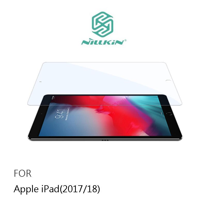 【愛瘋潮】NILLKIN Apple iPad 9.7 (2017/18) Amazing V+ 抗藍光玻璃貼