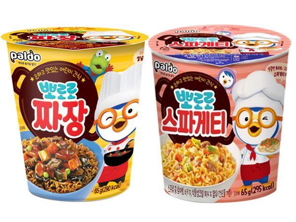韓國 八道Paldo~PORORO啵樂樂炸醬/紅醬義大利 杯麵(65g) 款式可選【D882695】團購/泡麵