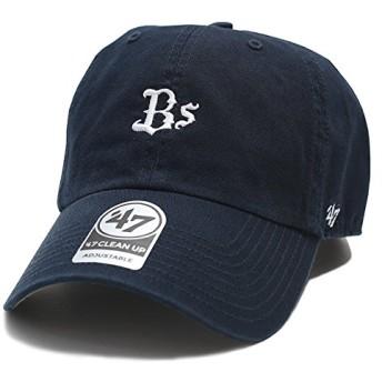 【NPB-BSRNR07GWS-NY】 フォーティーセブンブランド 47BRAND ローキャップ オリックス・バファローズ コラボ 帽子 CAP 日本プロ野球 正規品 (01)紺 Fサイズ