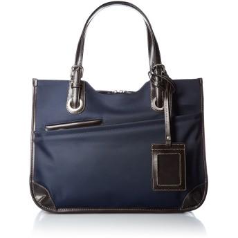 [シャルミス] レディースビジネストートバッグ A4対応 パスケース付 ネイビー One Size