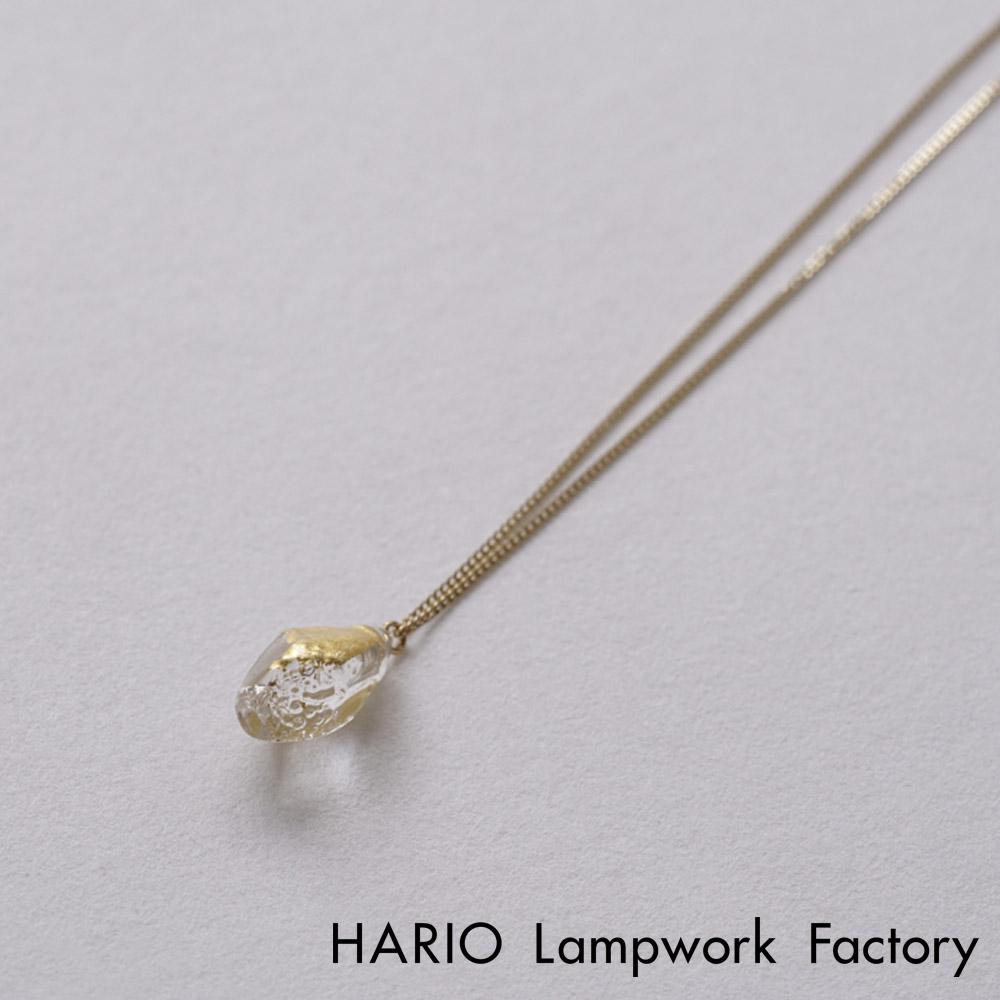 HARIO 10K金箔手工玻璃項鍊 HAA-STH-001N